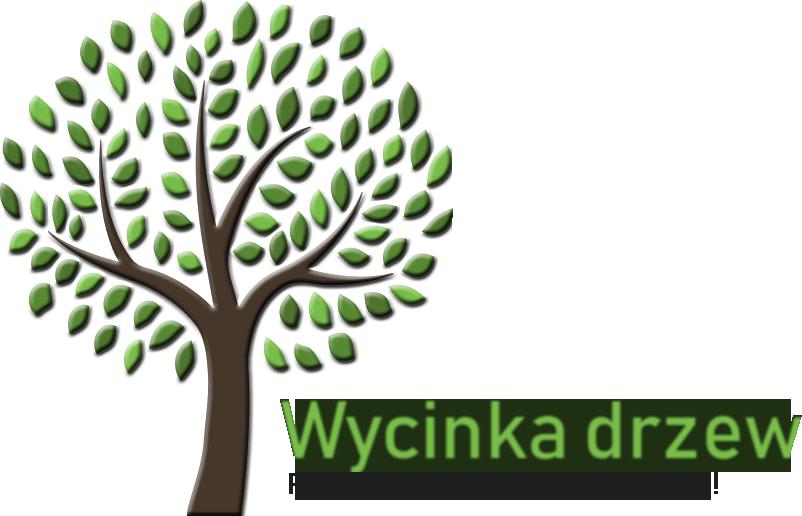 Logo z podpisem Wycinka drzew Jaworzno, Katowice, Sosnowiec - cały Śląsk